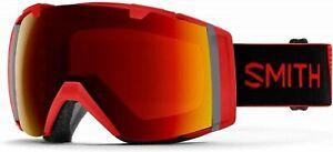 Smith Optics I/O Snowboard / Ski Goggle, Frame Only *, No Lens *, Rise Red color