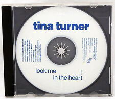 Tina Turner Look Me In The Heart Promo Compact Disc CD 1989 Capital Records