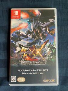 Monster Hunter Double Cross XX Nintendo Switch Japanese US Seller Fast Shipping