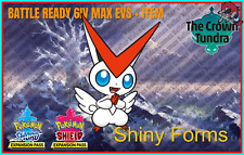 VICTINI ✨MYTHICAL SHINY✨BR 6IV Pokemon Sword & Shield
