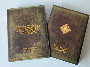 The Fellowship of the Ring Extended Edition 4-DVD Box Set - R4 - VGC - Free Post