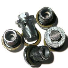 SAAB 9-3 9-5 1.9TID VAUXHALL GM FIAT 5(FIVE) OE OIL SUMP PLUGS 93183669 SP14WX5