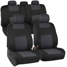 Car Seat Covers for Auto SUV Truck 9pcs Front & Rear 6 Colors - Economy Standard