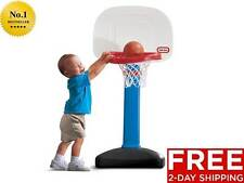 New Mini Basketball Hoop For Kids Little Tikes Easy Score Adjustable 3 Ball Set