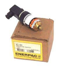 NIB ENERPAC IC-30 PRESSURE SWITCH IC30