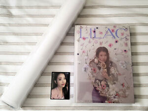 IU - 아이유 - LILAC Photo Book & Poster Set w/ a Special Photocard [NEW]