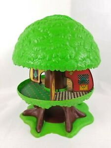 Vintage 1975 Tree Tots Family House Playset Only General Mills Kenner