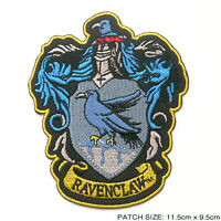 """HARRY POTTER """"RAVENCLAW"""" EXTRA LARGE Embroidered Robe Patch"""