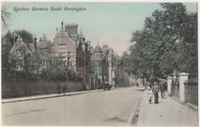 Egerton Gardens South Kensington, London Charles Martin Postcard B766