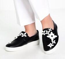 MICHAEL KORS Lola slip-on sneakers Black/BIANCO 38 TGL NUOVO