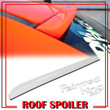 PAINTED FOR 08-12 LCI VOLVO S40 2nd K-STYLE REAR WINDOW ROOF LIP SPOILER WING