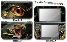 Dinosaur Super Cool Skin Vinyl Sticker Decal Cover #2 for NEW Nintendo 3DS XL