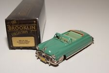 ~ BROOKLIN BRK 36 HUDSON HORNET CONVERTIBLE 1952 GREEN MINT BOXED