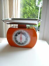 ♦ Ancienne Balance Laica Couleur Orange