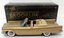 Brooklin 1/43 Scale BRK41 002  - 1959 Chrysler 300E Convertible Metallic Gold