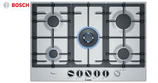 BOSCH PCQ7A5M90 75cm Built-in Stainless Steel Kitchen Gas Hob WOK Burner!!!