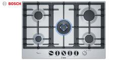 BOSCH pcq7a5m90 BUILT-IN in ACCIAIO INOX CUCINA piano cottura a gas con fornello WOK BRUCIATORE!!!