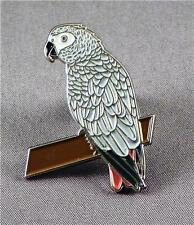 Metal Enamel Pin Badge Brooch Parrot Bird Parrots Macaw