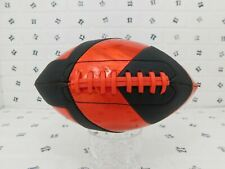 Mini Red and Black Color American Football - Classic Sport - Laser Grip Football