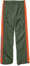 Under Armour UA Kid's Brawler Woven Warm-Up Trousers - 9 -10 Years - Green - New