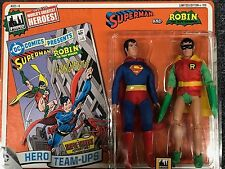 Superman and Robin two pack 2 Mego Retro Style Figures Toy Company Limited 100