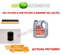 PETROL OIL AIR FILTER KIT + FS 5W40 OIL FOR FIAT PUNTO 1.4 77 BHP 2008-12