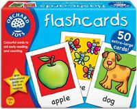 Orchard Toys FLASHCARDS Baby/Toddler/Child Counting Reading Game Education BN