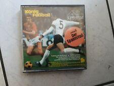 """König Fußball -Super 8mm Film,60 m,color Ton """" Lektion 6 """"Der Spannstoß"""""""
