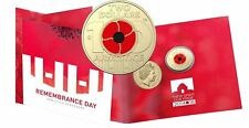 """FREE POST -  2018 $2 """"C"""" ARMISTICE - REMEMBRANCE DAY COLOURED UNC COIN ONTO CARD"""