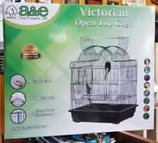 """#29629Blk 25"""" X 21"""" X 26"""" Black Hump Top Opening Bird Cage Great For Cockatiels"""
