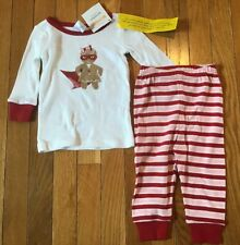 New NWT Gymboree Gymmies Baby Size 6-12 Months Christmas Super Gingerbread Girl