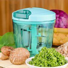 Manual Food Processor Chopper Blender Slicer Safe Free Durable Household Kitchen
