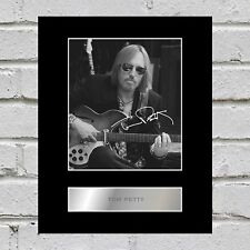 Tom Petty Signed Mounted Photo Display #1
