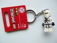 LEGO Ninjago 853100 Zane Weisser Ninja White Schlüsselanhänger Keychain Figur