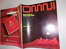 RIVISTA SCIENZA / FANTASCIENZA OMNI -  FEBBRAIO  1979 -  FOTO SOMMARIO 3/18