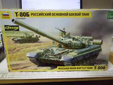 Zvezda 1:35 3590 Russian Main Battle Tank T-80B NEU OVP