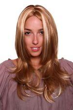 Perruque Femmes Raie au Milieu avec Mêches Blondes Long 60 cm Gfw970-27h613