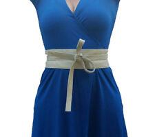 Wide Obi Leather Belt, Wrap Belt, Fashion and Trending Belts