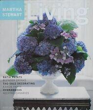 August 2001 Issue 93 of MARTHA STEWART LIVING Magazine