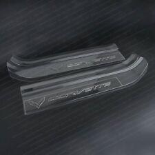 Corvette Clear Door Sill Protectors C7 Stingray Z51 Z06 (clear)