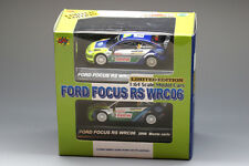 1/64 CM's Rally Car Collection Ford Focus RS WRC06 2007#3 2006#4 2Car