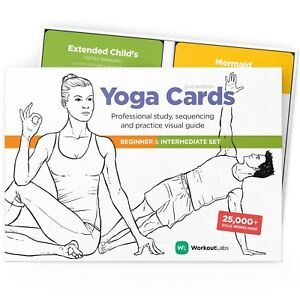 WorkoutLabs Yoga Cards I & II: Set Study, Sequencing & Practice Guide