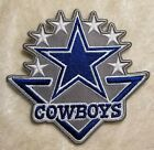 Внешний вид - Dallas Cowboys 6 Star Iron On Embroidered Patch ~US Seller~FREE Ship!
