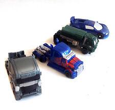 "TRANSFORMERS Movie 4 5"" Action figures  toy lot set with Prime + Megatron"