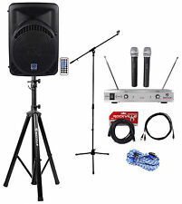"Rockville Pro 12"" ipad/iphone/Android/Laptop/TV Youtube Karaoke Machine/System"