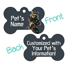 Rocket | Guardians of the Galaxy | Pet Id Dog Tag Personalized for Your Pet