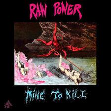 Raw Power - Mine To Kill (LP, Album, Red vinyl)