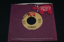 45 RECORD PAUL NICHOLAS DO YOU WANT MY LOVE/HEAVEN ON VG+/VG+ OUT OF PRINT