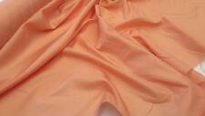 PEACH ANTI STATIC POLYESTER DRESS LINING FABRIC  PL01 : $3.99 PER MTR
