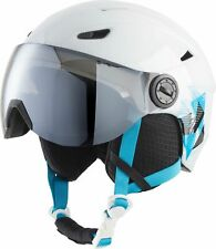 Tecnopro Children's Ski Helmet Pulse Jr S2 White Turquoise
